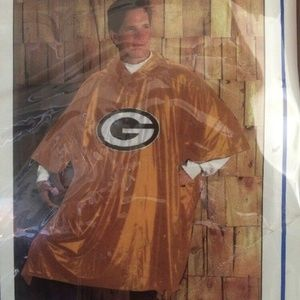 Other - NFL Packers GAMEDAY Poncho Adult Waterproof PVC